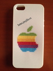 Logo Apple colores (13 € para Iphone 5)