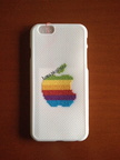 Logo Apple colores (14 € para Iphone 6)