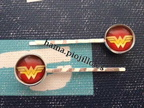 Horquillas Wonder Woman (2 € el par)